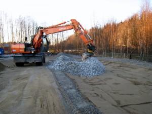 Slutförande av spillskydd
